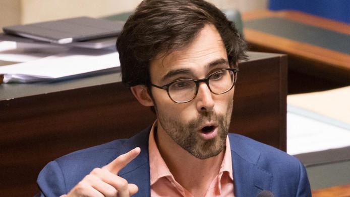 Kristof Calvo, chef de groupe Groen à la Chambre.
