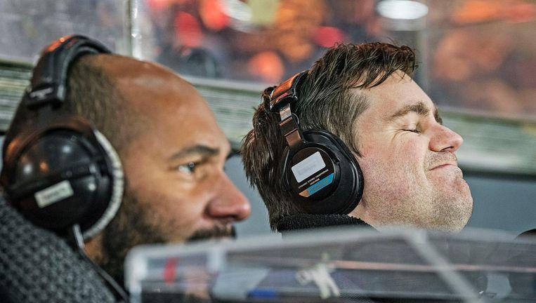 Kampioen Feyenoord kan niet meer winnen. Beeld Foto: Guus Dubbeldam / de Volkskrant.
