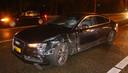 Ook deze auto raakte zwaar beschadigd
