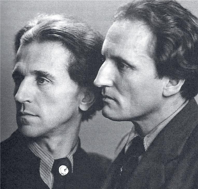 Wolfgang Frommel en PercyGothein in 1944. Beeld