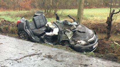 Drie gewonden na zwaar ongeval