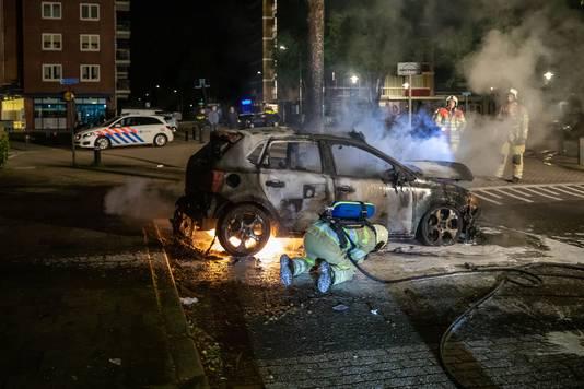 Vaak gaat ook het bewijsmateriaal voor brandstichting in vlammen op.