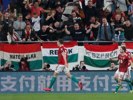 Vicewereldkampioen Kroatië onderuit in Hongarije