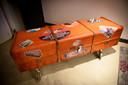 De 'reiskoffer' van José van den Broek uit Helmond.