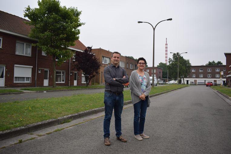 Maureen Tollenaere en Geert Asman in Klein Rusland.