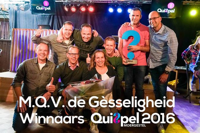 MQV De Gèsseligheid won in 2015 en 2016 Quispel in Moergestel