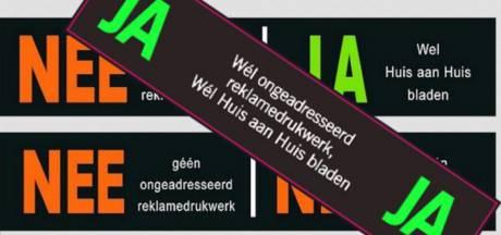 Utrecht bijt zich vast in ja-ja-sticker tegen ongeadresseerd reclamedrukwerk