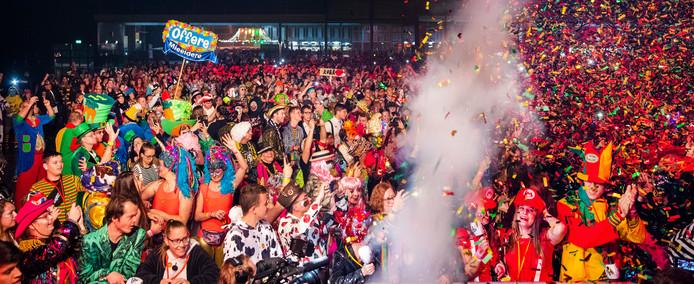 De aftrap van het carnavalsseizeoen op 11 november 2019 in de MECC in Maastricht