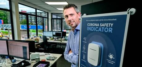 Slimme meter van Zwijndrechts bedrijf geeft ventilatie-advies in strijd tegen corona