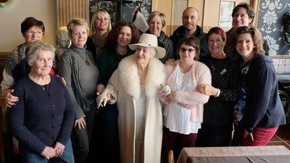 'Madame Hortense' Champagne viert 96ste verjaardag