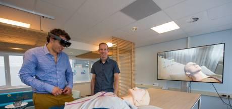 Start-up in Best zorgt voor levensechte simulatietrainingen: 'Ik moet iets doen anders gaat de patiënt dood'