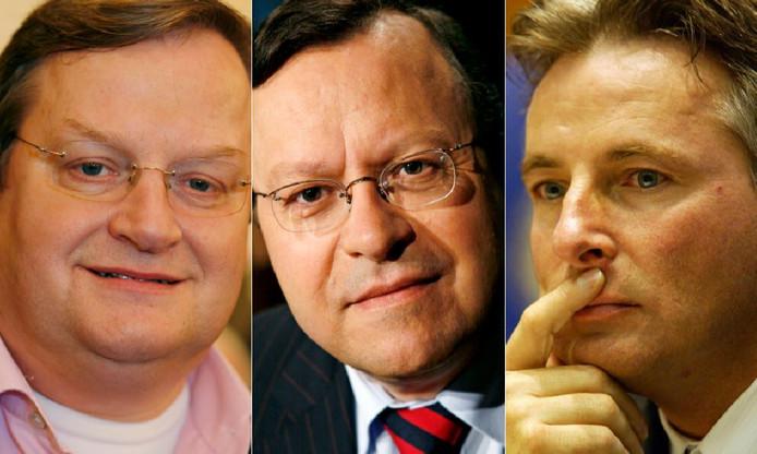 Hilbrand Nawijn, Mat Herben en Hans Smolders