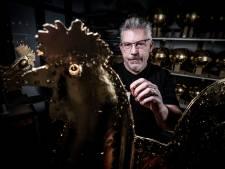 Den Bosch mag er verguld mee zijn: haan en Sint-Jan blinken straks weer