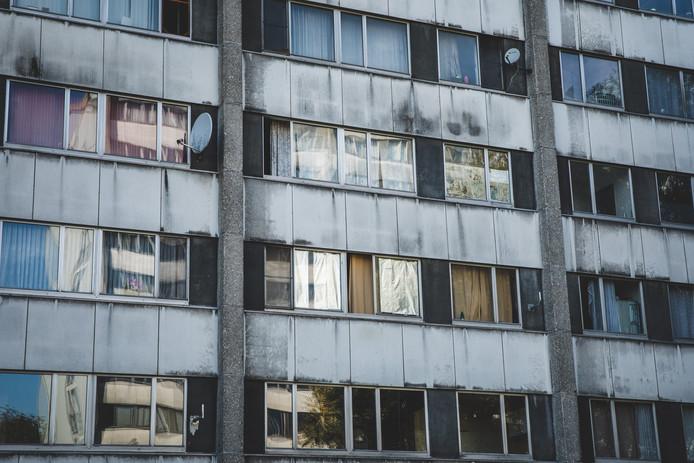 Echt fris ziet het gebouw er niet meer uit