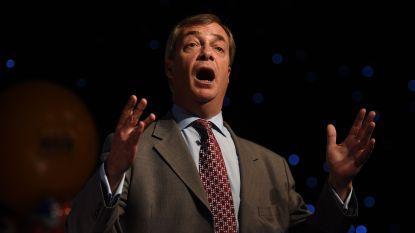 """Farage heeft geen spijt van belediging Van Rompuy: """"Hij zou me moeten betalen"""""""