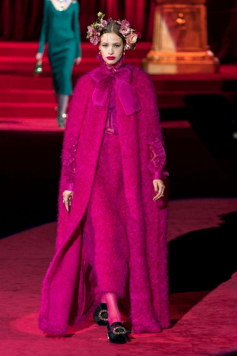 Dolce & Gabbana. Beeld Imaxtree