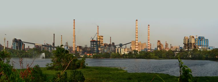 De fabriek van Tata Steel in Jamshedpur, India. Beeld Tata Steel