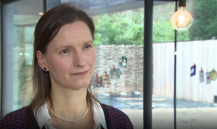 Liesbet Stevens, adjunct-directrice van het Instituut voor de Gelijkheid van Vrouwen en Mannen.