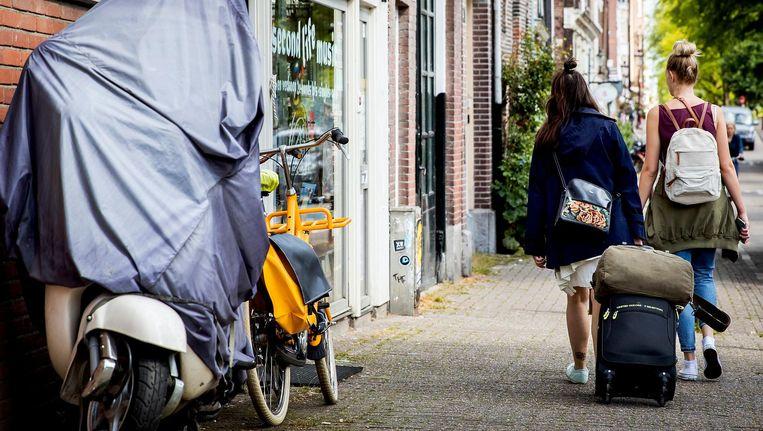 Amsterdammers mogen hun huis maximaal 60 dagen per jaar verhuren. Beeld anp