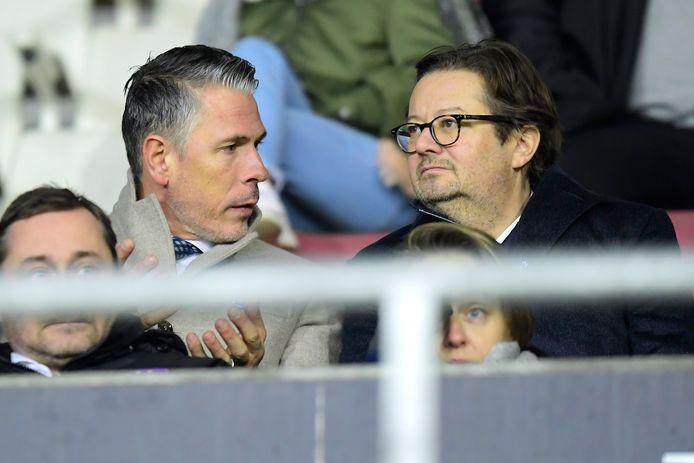 Michael Verschueren et Marc Coucke.