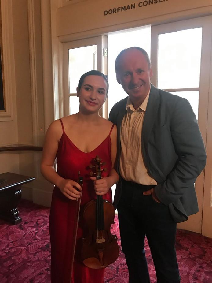 Katya en haar vader