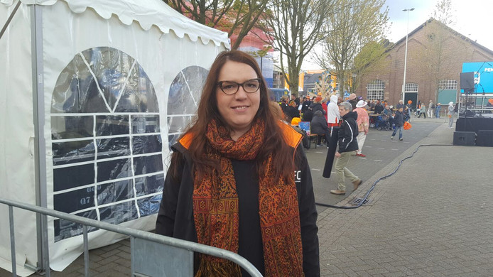 Marije is stagiaire bij de gemeente Tilburg en als vrijwilliger aan het werk.