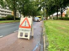 Oliespoor zorgt voor gladheid in Oldenzaal: vrouw raakt gewond