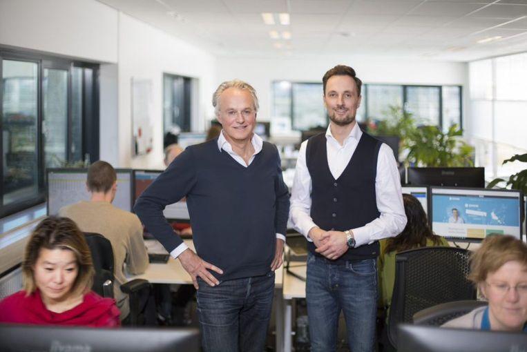 De leidinggevenden van Swink. Rechts: Niels van Buren. Beeld null