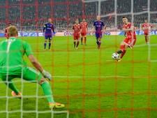 Het wemelt van de penalty's in de Champions League