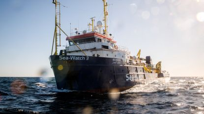 Reddingsboot Sea-Watch 3 toch aan land in Italië