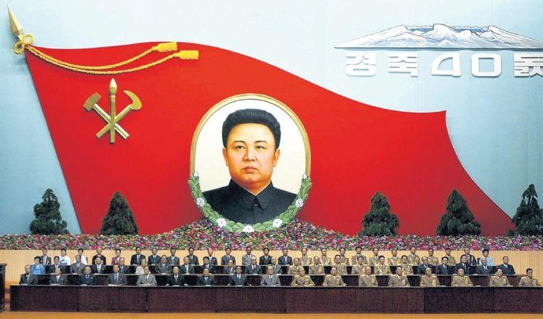 Nationaal congres in Noord-Korea, 2004. Beeld reuters