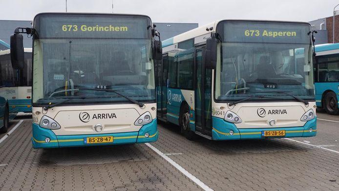 Bus 673 gaat weer rijden tussen Gorinchem en Leerdam.