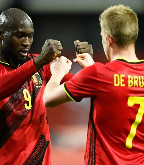 """Lukaku et De Bruyne nominés pour """"l'Équipe de l'Année"""" de l'UEFA, Courtois absent"""