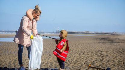 11,5 ton afval geruimd op stranden