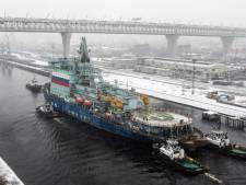 La Russie achève un premier essai d'Arktika, son brise-glace nucléaire le plus puissant