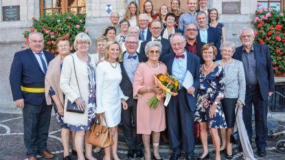 Louis en Trui vieren 60ste huwelijksverjaardag
