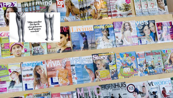 Nooit meer gluren naar de buik van de buurvrouw economie for Sanoma uitgevers