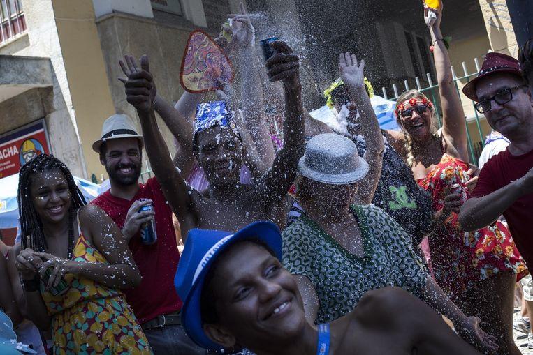 Carnaval in Rio de Janeiro. Beeld Rafael Fabres