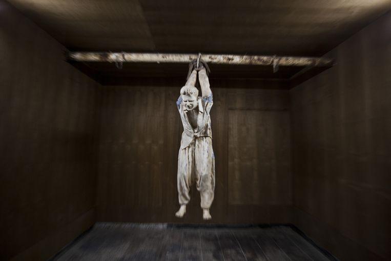 'The Red Jail', vandaag de dag een museum, werd tijdens het regime van wijlen Saddam Hussein gebruikt om de stad te controleren en voor het martelen van Koerden. Beeld Matilde Gattoni