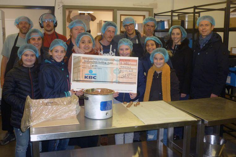 Leerlingen van (W)Onderwijs uit Herentals steunen Twerk. Tekst:TJH