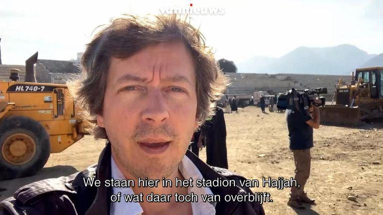 Robin Ramaekers in Jemen.