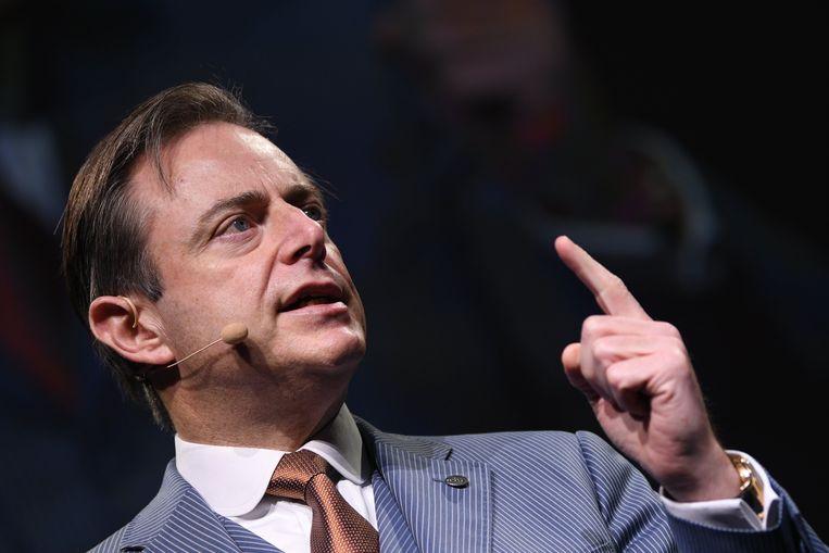 Bart De Wever tijdens zijn nieuwjaarstoespraak.