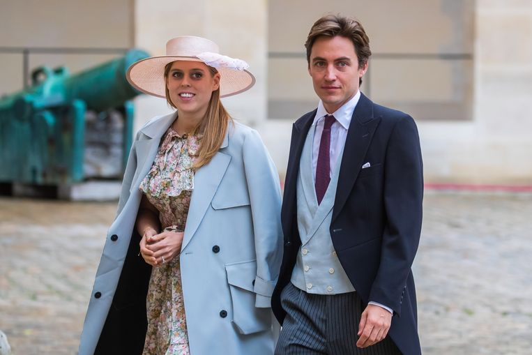 Prinses Beatrice met haar verloofde, Edoardo Mapelli Mozzi.