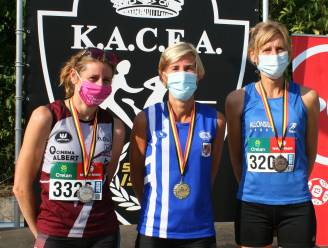 Stefan Rens (50+) en Kristel Van Maldeghem (40+) Belgisch kampioen 10.000m