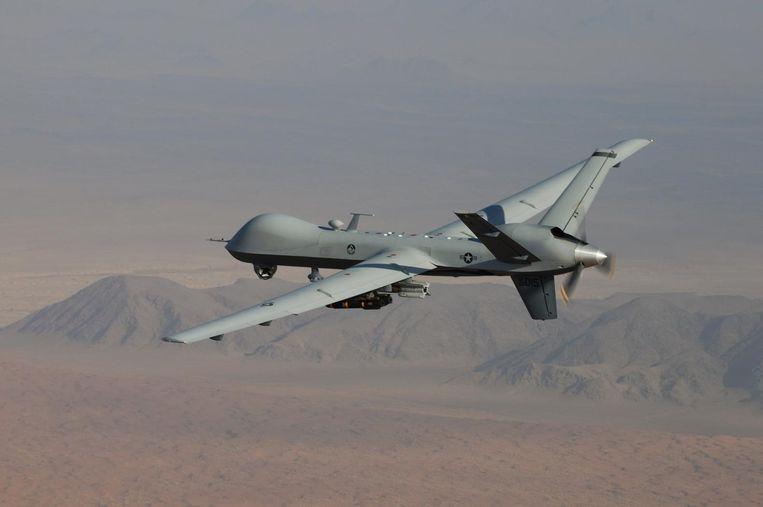 De Amerikaanse MQ-9 Reaper Drone. Beeld