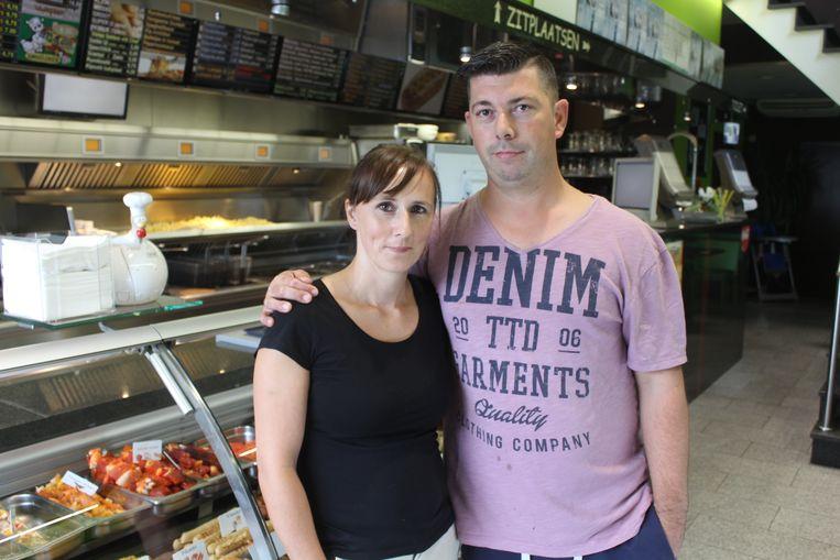 Veronique en Diederik, de jongste generatie frituristen.