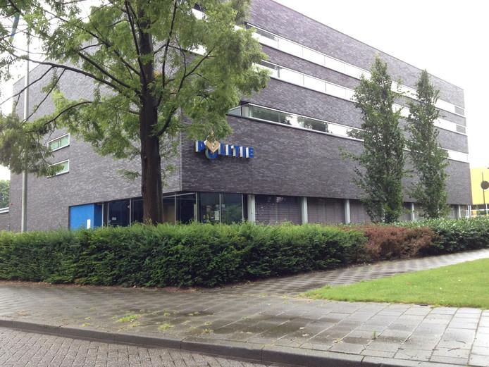 Het politiebureau in Schijndel.