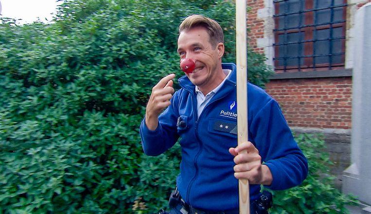 'De Buurtpolitie' doet mee aan Rode Neuzen Dag.