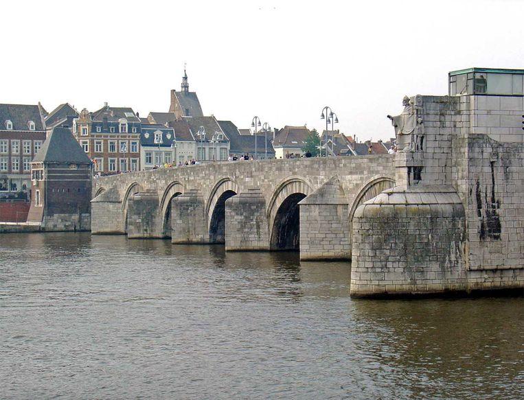 De 'nieuwe' brug van Maastricht. Beeld