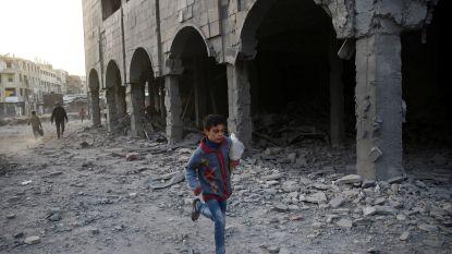 Noodhulpdepot in Syrisch rebellengebied gebombardeerd